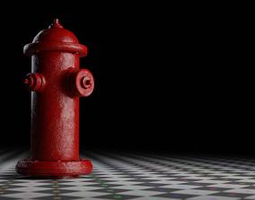 Fire Hydrant 3D model VR / AR ready