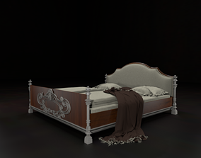 Msk - Bed fin12 3D model