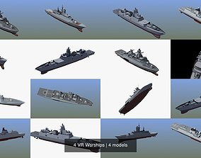 4 VR Warships 3D