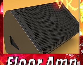 Stage Amp High Detail 3D model