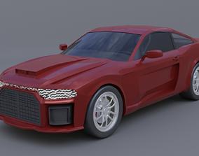 3D Generic muscle car mark 2