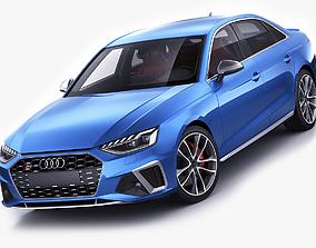 Audi S4 2020 sedan limousine 3D model