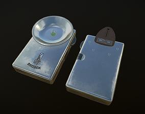 Flashlight electric 3D asset