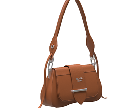 3D model Handbag-Prada-Milano