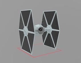 3D model tie fighter star wars