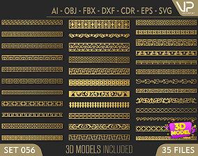 35 3D Decorative wall panels - screen SET 056