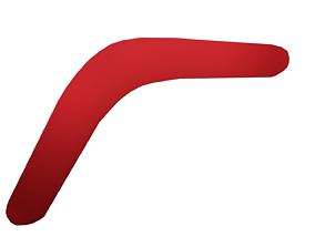 Boomerang Experimental 3D model