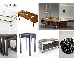 sidetable Table 3d model 02