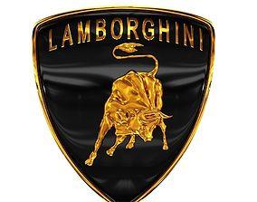 Lamborghini logo 3D printable model