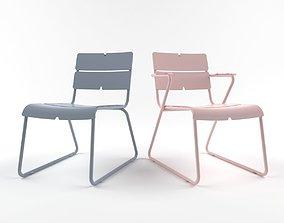 3D model Corail lounge armchair