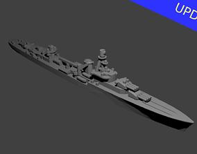 3D printable model French Cruiser Emile Bertin