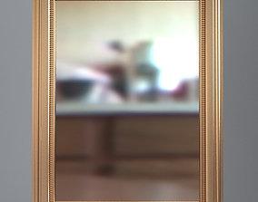 3D model Rectangular Wall Mirror