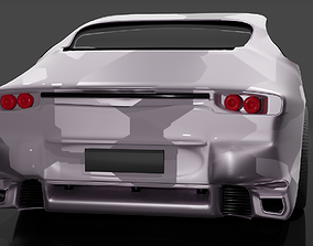3D print model porsche 911 turbo s