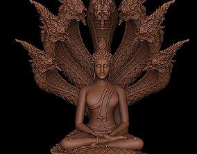 Saturday Monk Buddha Limit 3D print model