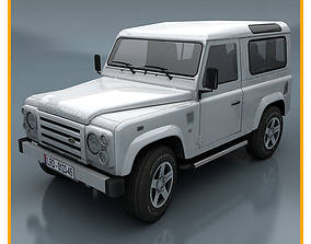 Land Rover Defender 3D asset