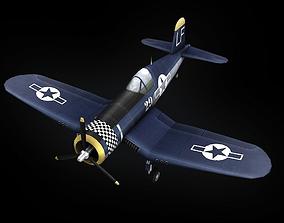 F4U Corsair 3D asset