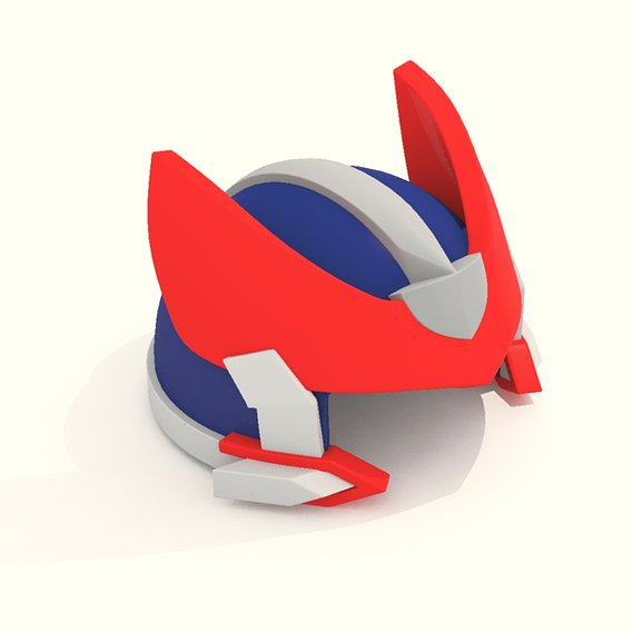 Cartoon Robot Helmet Model CRH6