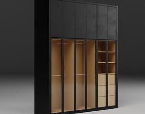 Minimalist Wardrobe 3D asset