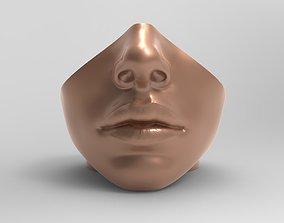 Head vase 3D printable model
