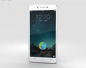 3D model touchscreen Vivo X6 Plus Silver