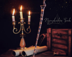 Nymphadora Tonks Wand - Harry Potter 3D printable model