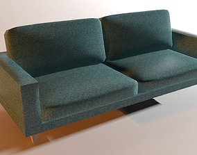 Sofa LowPoly 3D asset low-poly