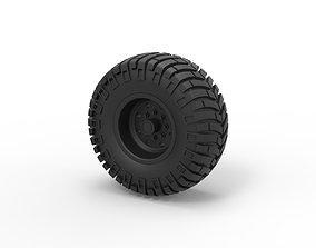 3D printable model Diecast Offroad wheel 10
