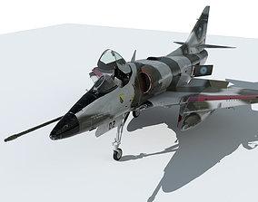 3D model A4 Skyhawk