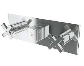 Gro Welle Dusches 741 mixer faucet 3D