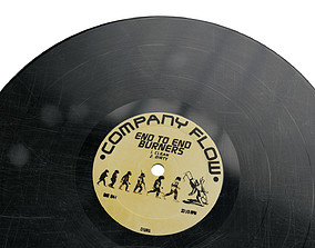 3D asset game-ready 12 Inch Vinyl Record