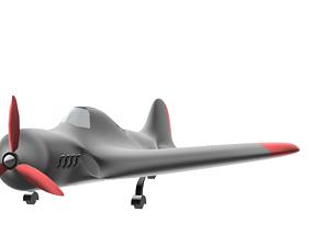 Old plane 3D printable model