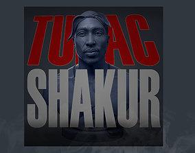 Tupac Shakur 3D printable model
