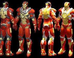 Iron Man MK17 IGES 3D printable model
