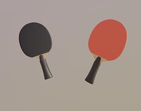 3D model Table Tennis Bat