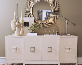 3D model Decorative set Light Tones