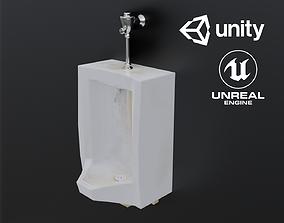 3D asset Dirty Urinal