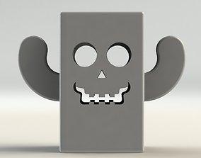 Skull Pen Holder 3D print model