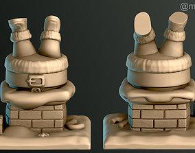 Santa Claus Trapped 3D printable model