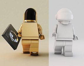 3D LEGO Daft Punk figures
