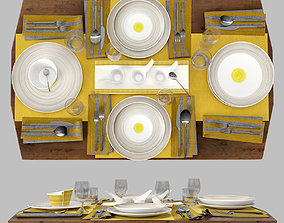 Table setting Villeroy and Boch 3D