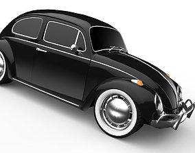 VW Beetle Classic 3D asset