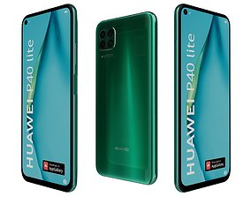Huawei P40 Lite Emerald Green 3D model