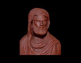 3D printable model Jesus bust