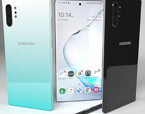 3D Samsung Galaxy Note 10 Plus