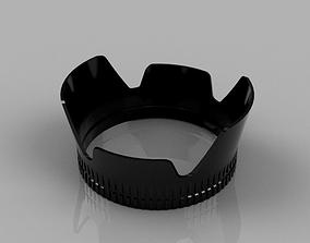 Lens hood 52mm - 18-55mm Nikon 3D print model