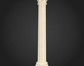 3D model pillar Column