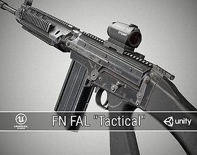 FN FAL Tactical 3D asset