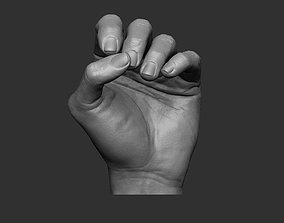 3D print model Hand pose 5
