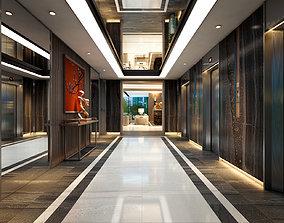 3D model 1CBB Hotel Lobby Interior Design