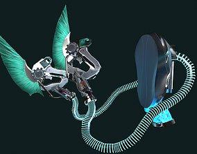 cyber daggers 3D model